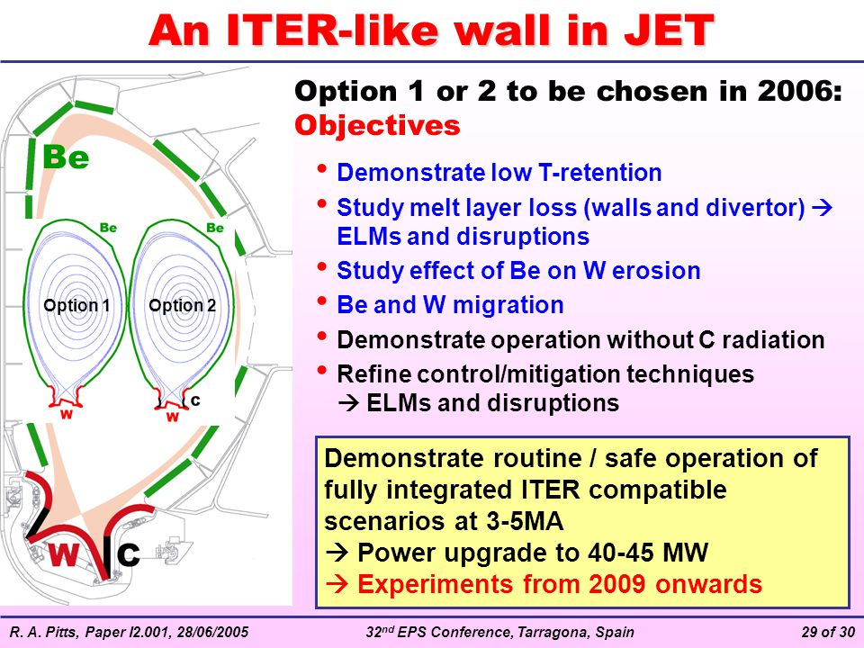 An ITER-like wall in JET
