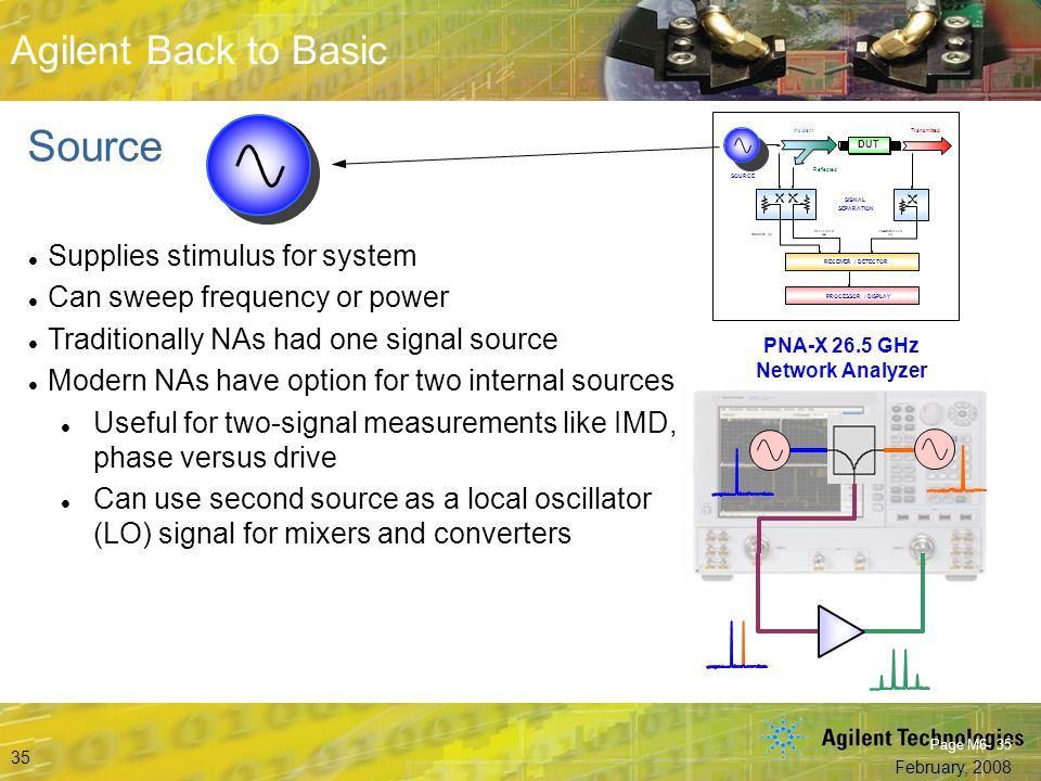 PNA-X 26.5 GHz Network Analyzer