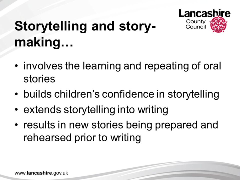 Storytelling and story-making…