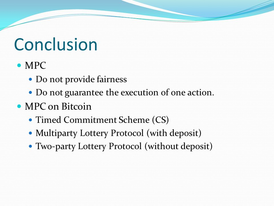 Secure Multiparty Computations on Bitcoin - ppt video online
