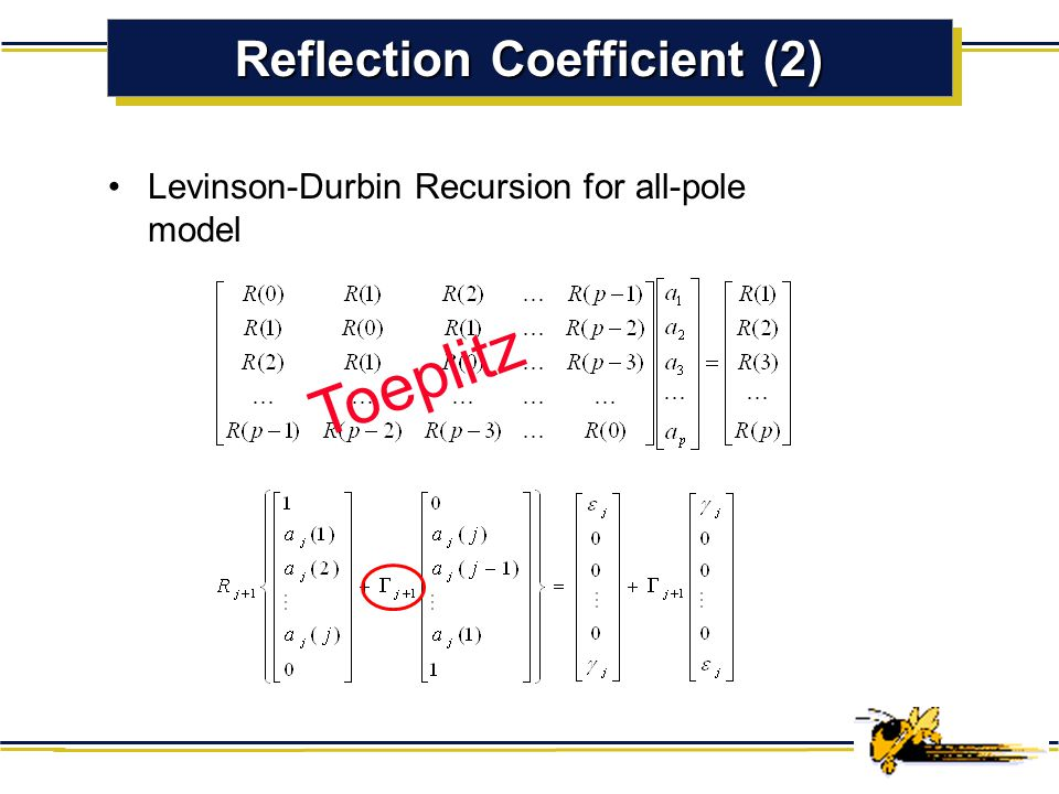 Reflection Coefficient (2)