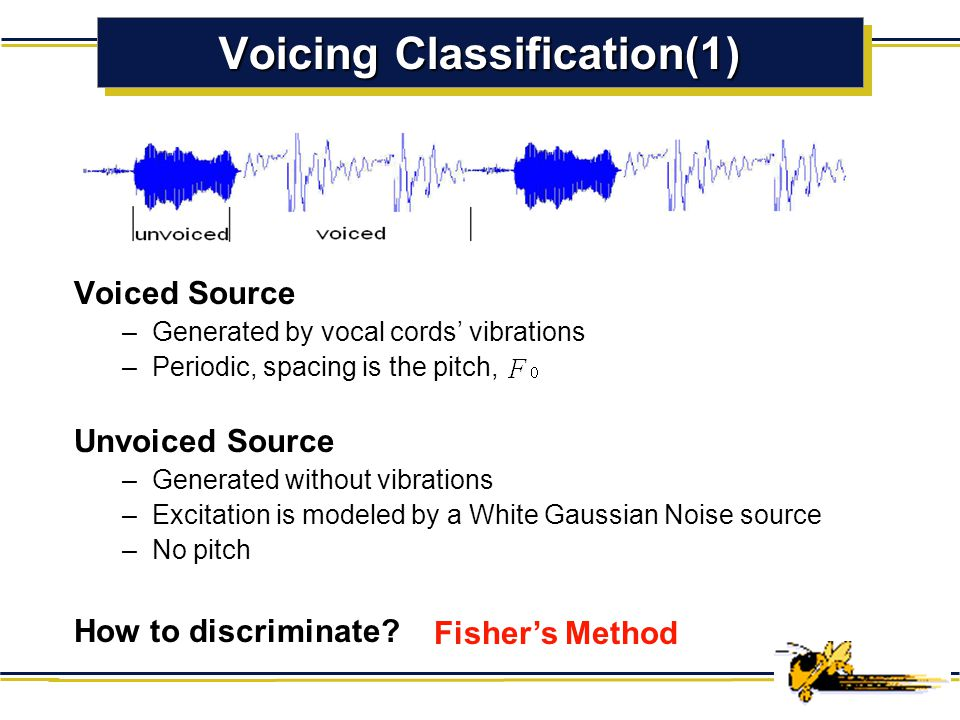 Voicing Classification(1)
