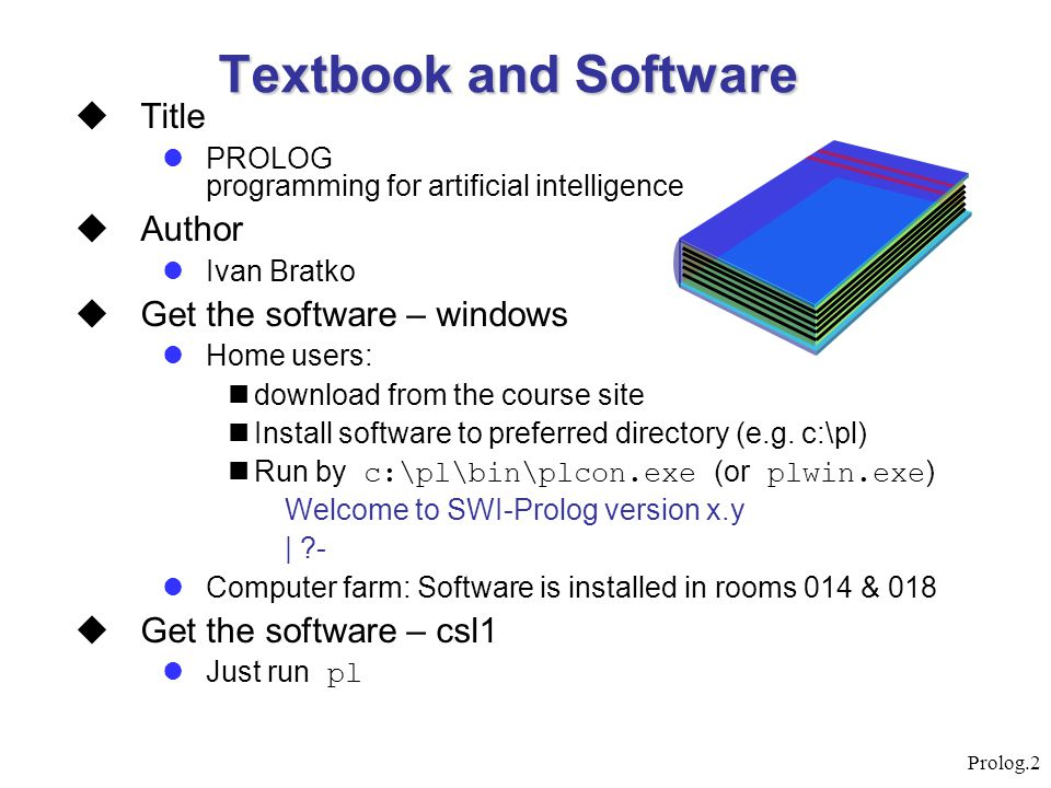 Textbook and Software Title Author Get the software – windows
