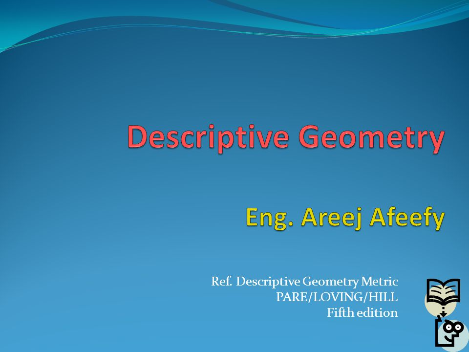 descriptive geometry eng areej afeefy ppt download