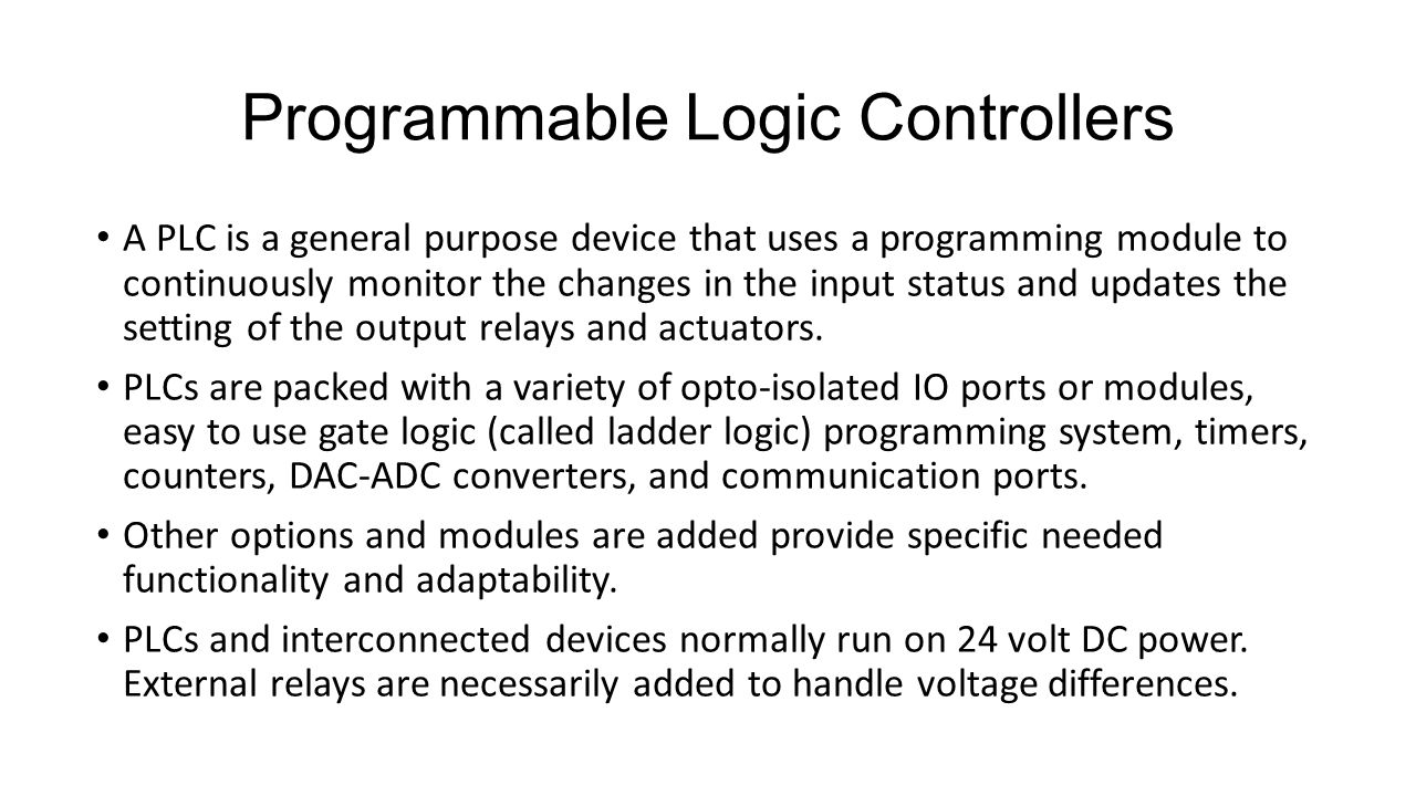 Me192 Special Lecture Programmable Logic Controllers In Support Of The Same Circuit Can Be Replicated Plc Ladder