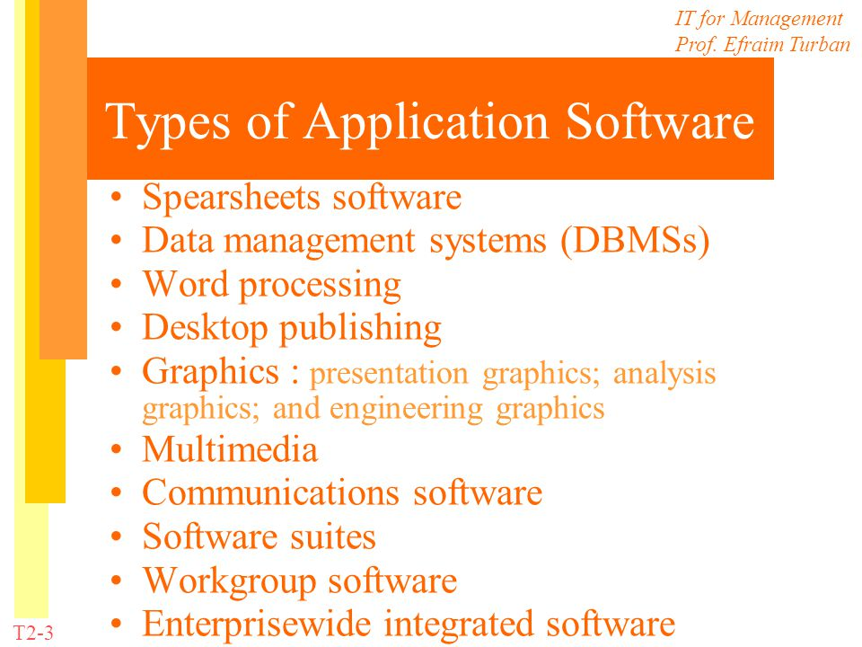 Technology Guide 2 Software - ppt download