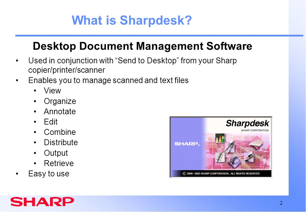 Desktop Document Management Software