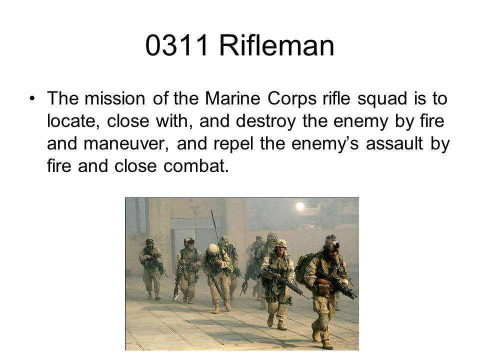 0311 Rifleman Ppt Video Online Download