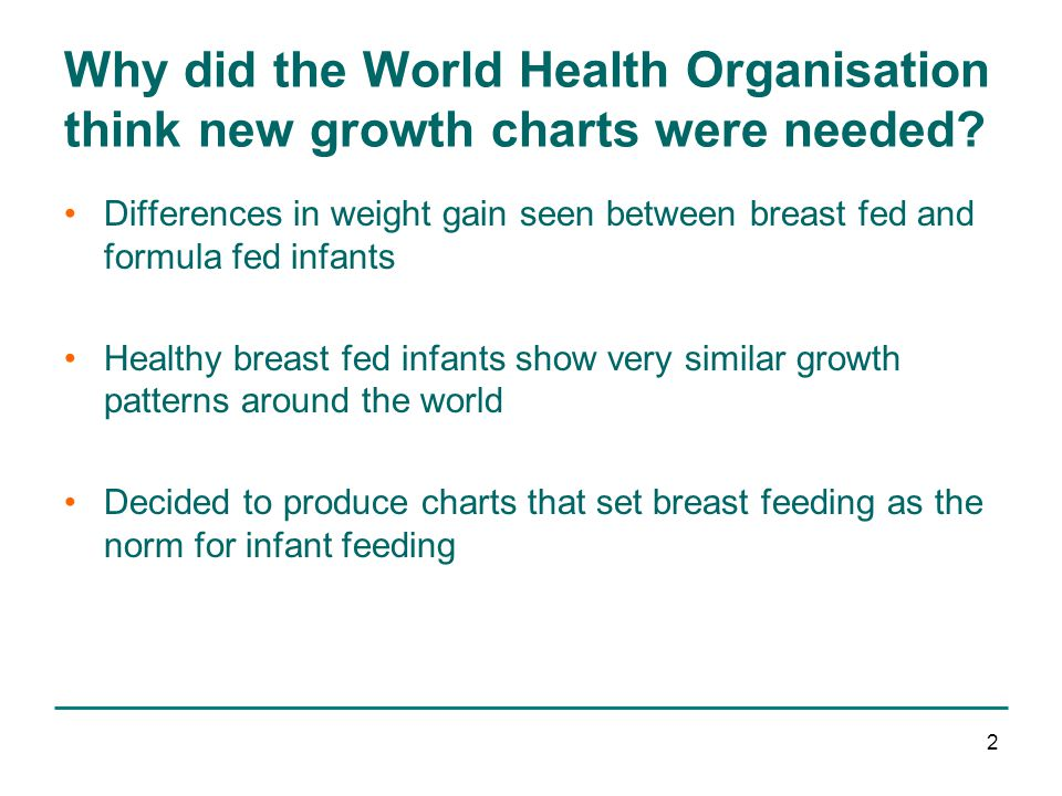 An Introduction To The New Uk Who Growth Charts Ppt Video Online