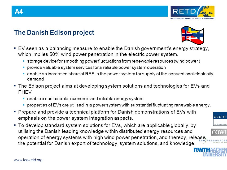 The Danish Edison project