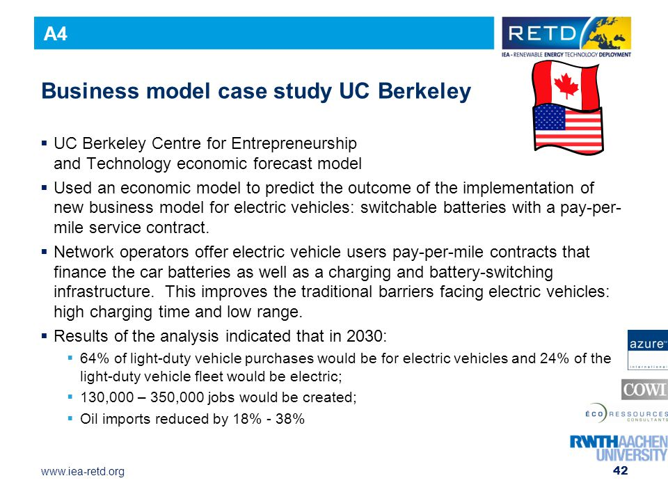 Business model case study UC Berkeley