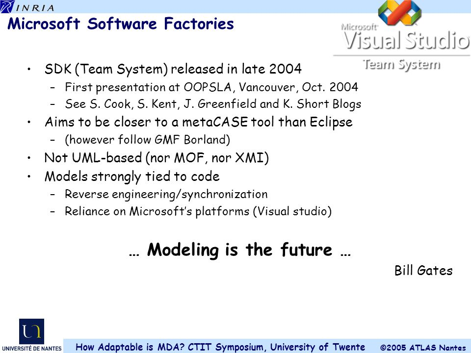 Microsoft Software Factories