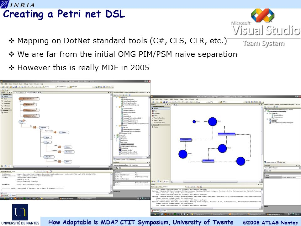 Creating a Petri net DSL