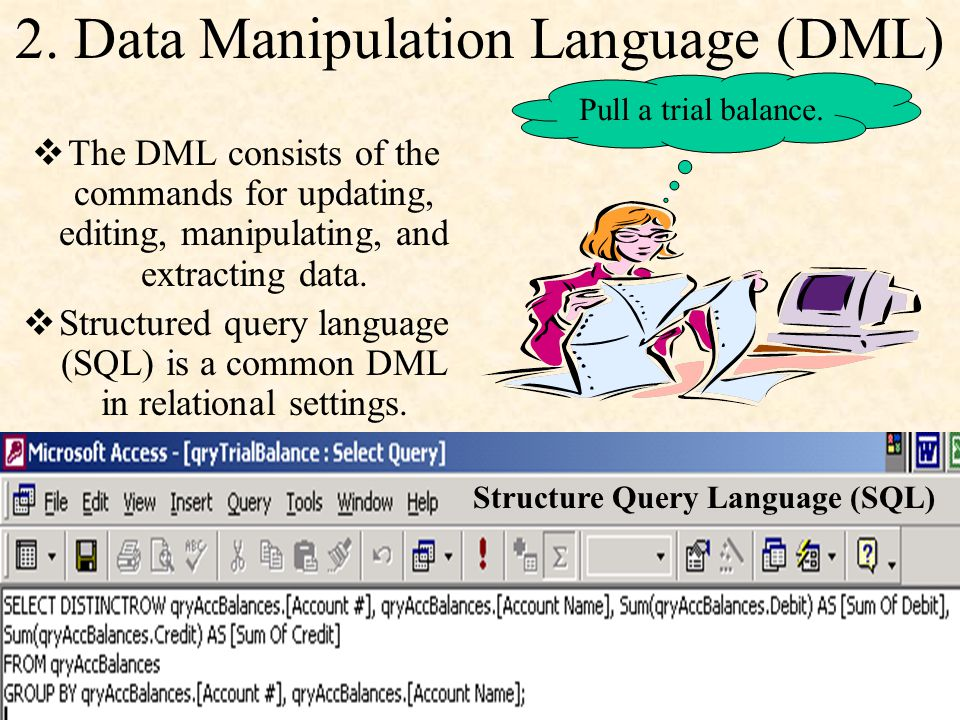 2. Data Manipulation Language (DML)