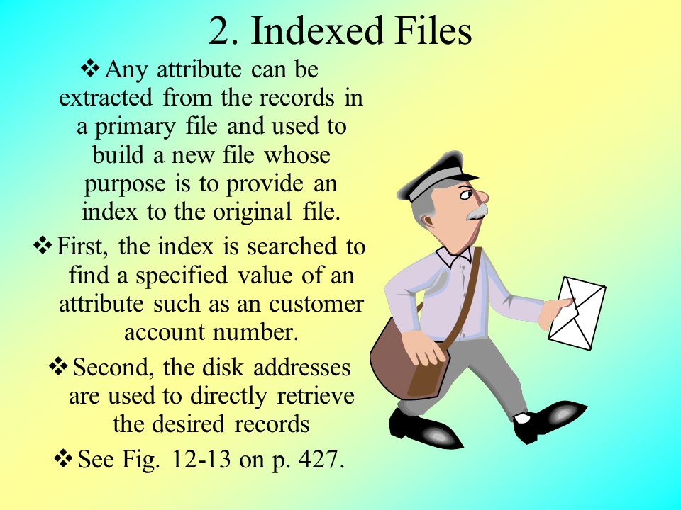 2. Indexed Files