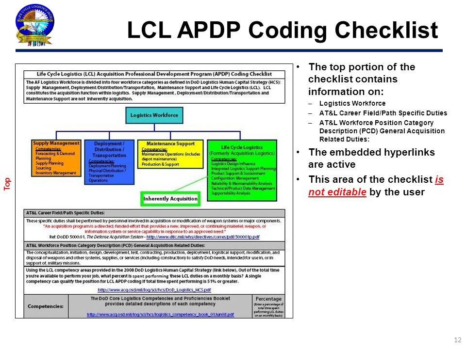 Life Cycle Logistics (LCL) Reconstitution Effort Update FIPT OCT ppt ...