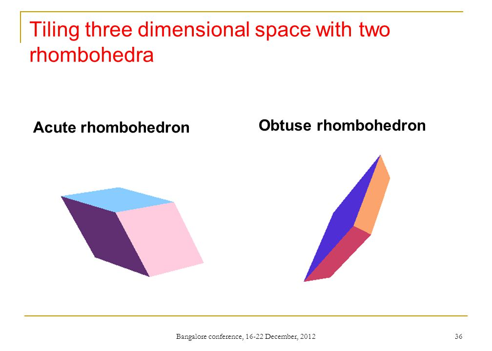 Tiling three dimensional space with two rhombohedra