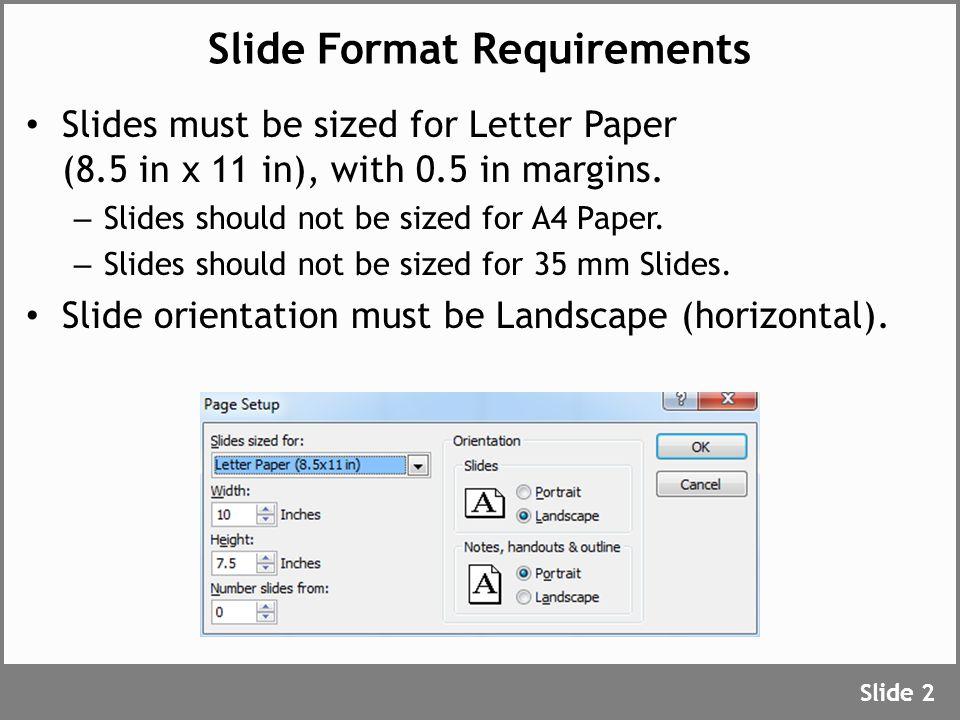 Outline Slide Format Title Slide Font Size Presentation