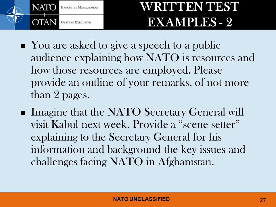 UNDERSTANDING AND PREPARING FOR EMPLOYMENT AT NATO - ppt video ...