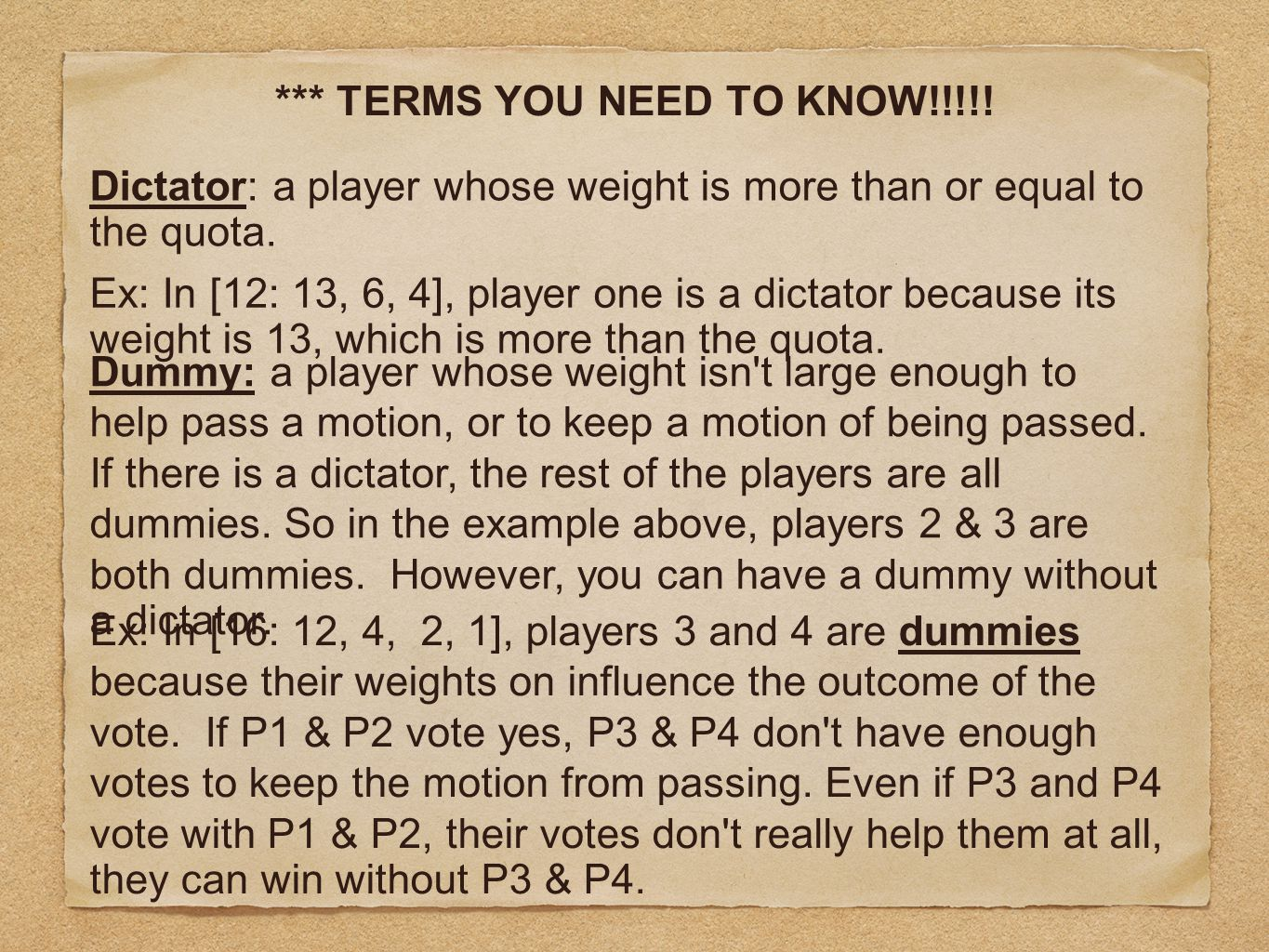 *** TERMS YOU NEED TO KNOW!!!!!