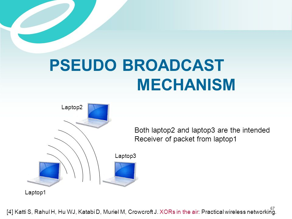 PSEUDO BROADCAST MECHANISM