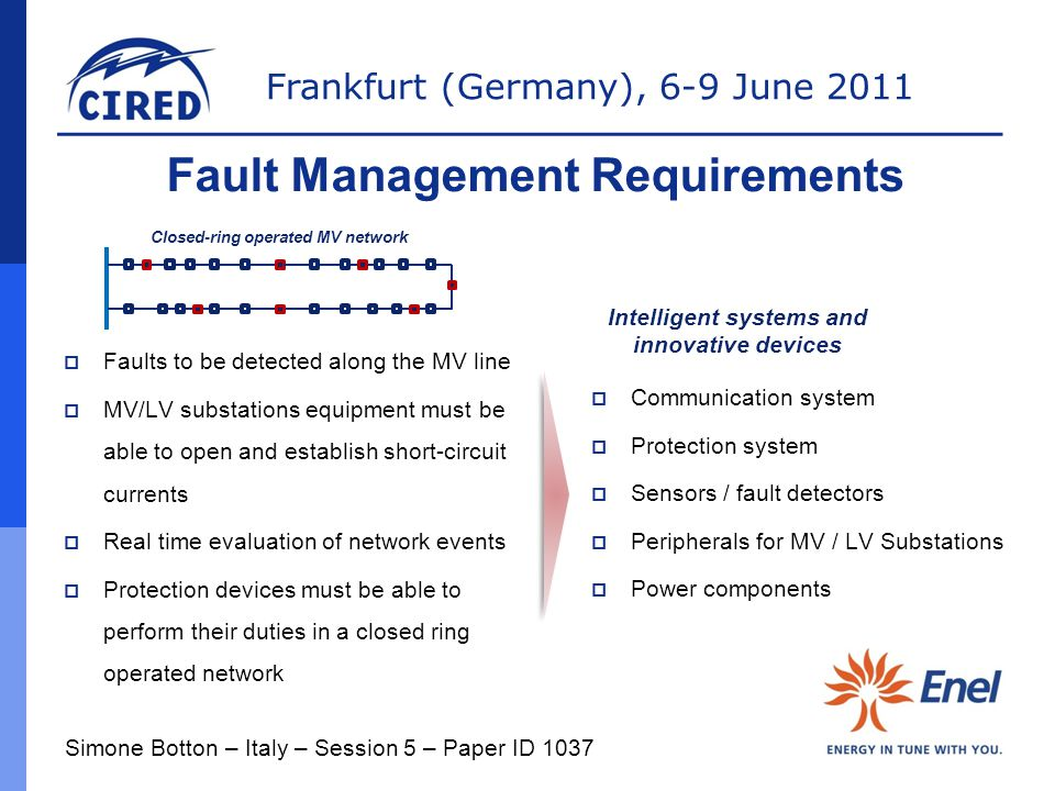 Fault Management Requirements