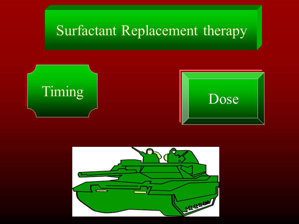 Surfactant Replacement therapy