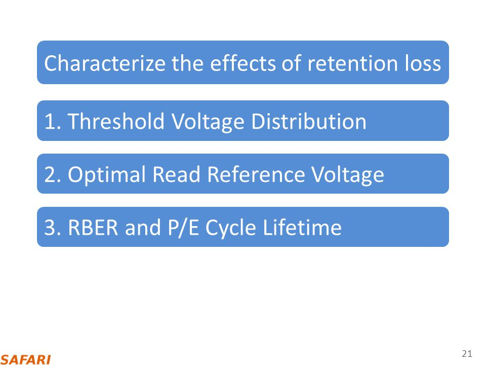 Characterize the effects of retention loss