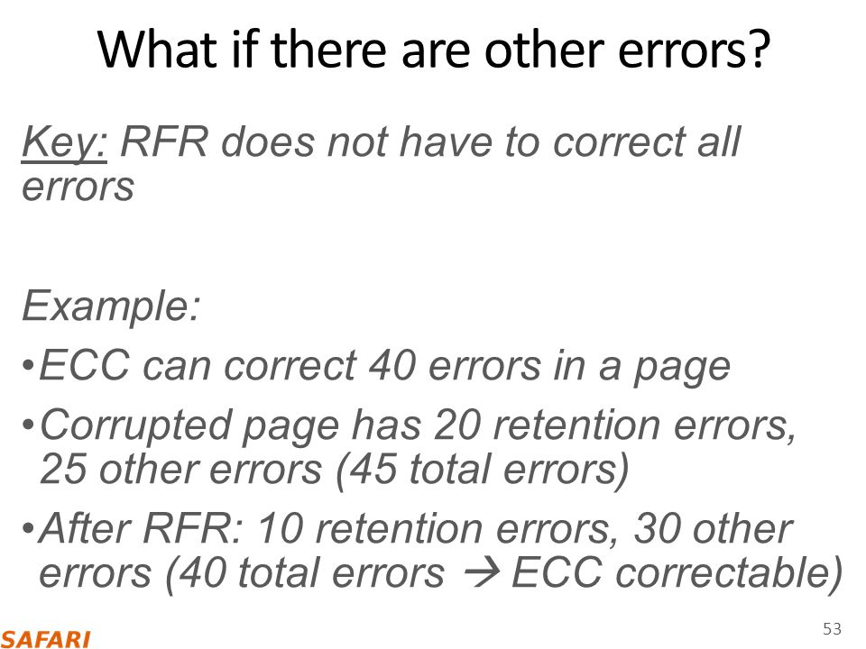 What if there are other errors