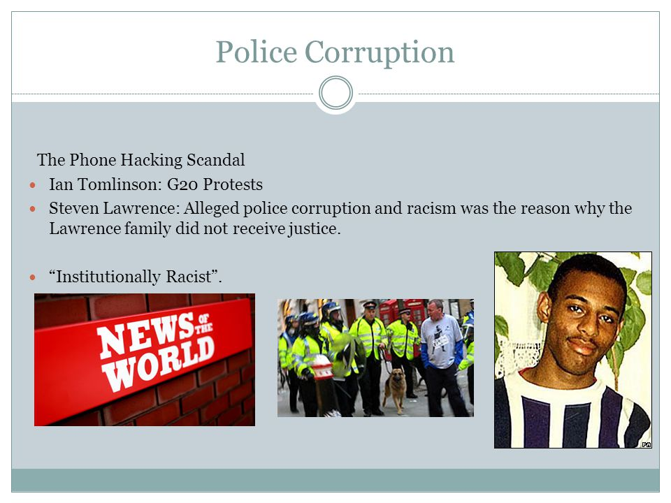 Police Corruption The Phone Hacking Scandal