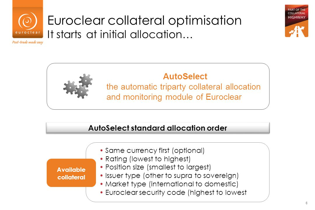 AutoSelect standard allocation order