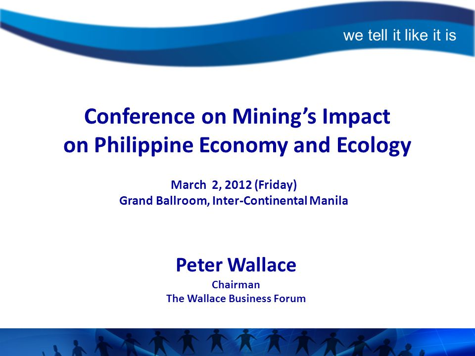 Conference on Mining's Impact on Philippine Economy and Ecology