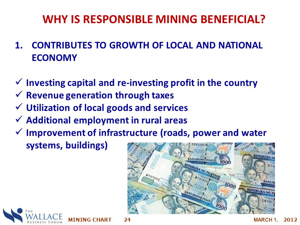 WHY IS RESPONSIBLE MINING BENEFICIAL
