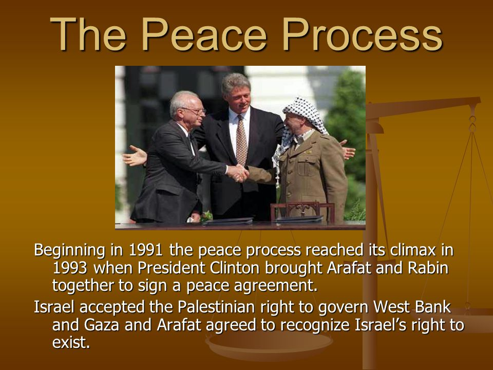 The Peace Process