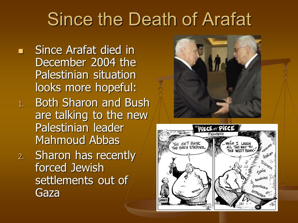 Since the Death of Arafat