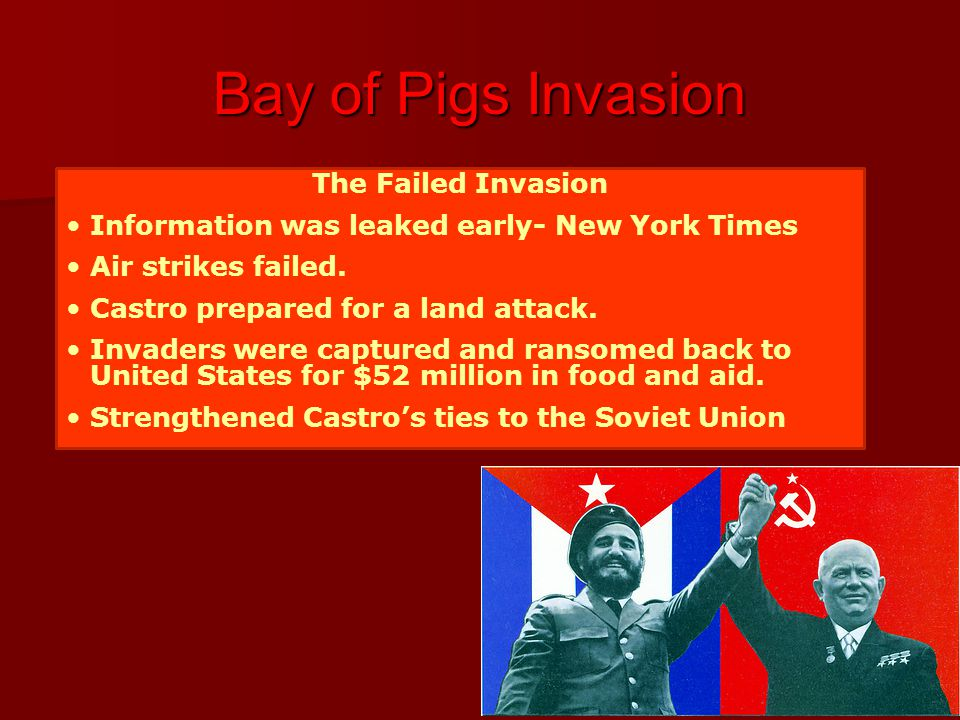 Bay of Pigs Invasion The Failed Invasion