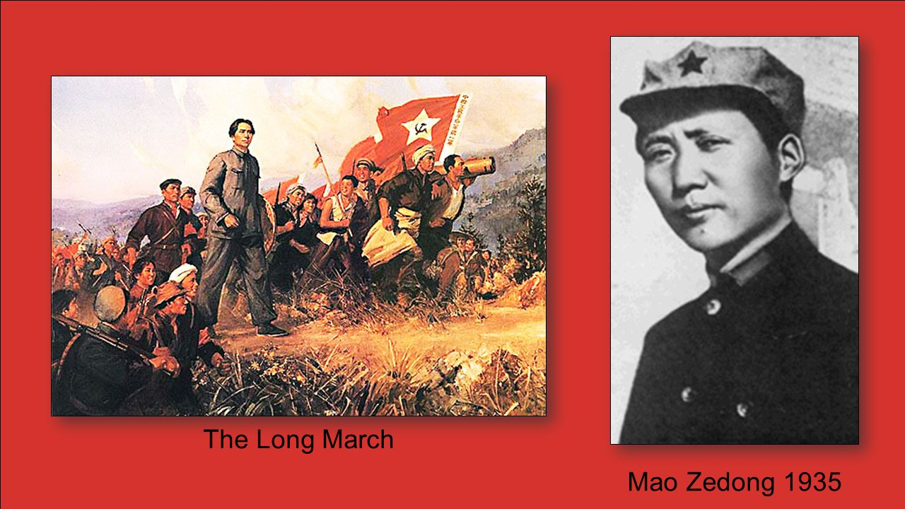 The Long March Mao Zedong 1935