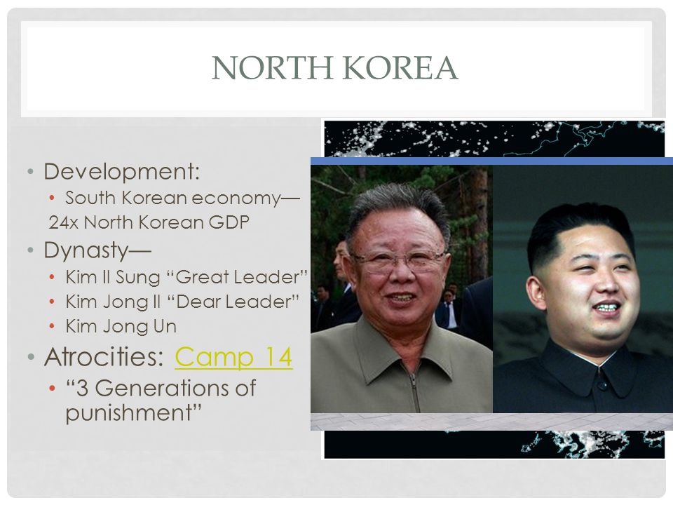 North Korea Atrocities: Camp 14 Development: Dynasty—