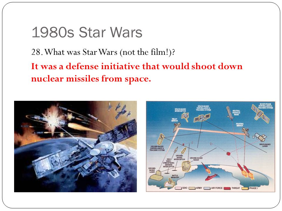1980s Star Wars 28. What was Star Wars (not the film!)