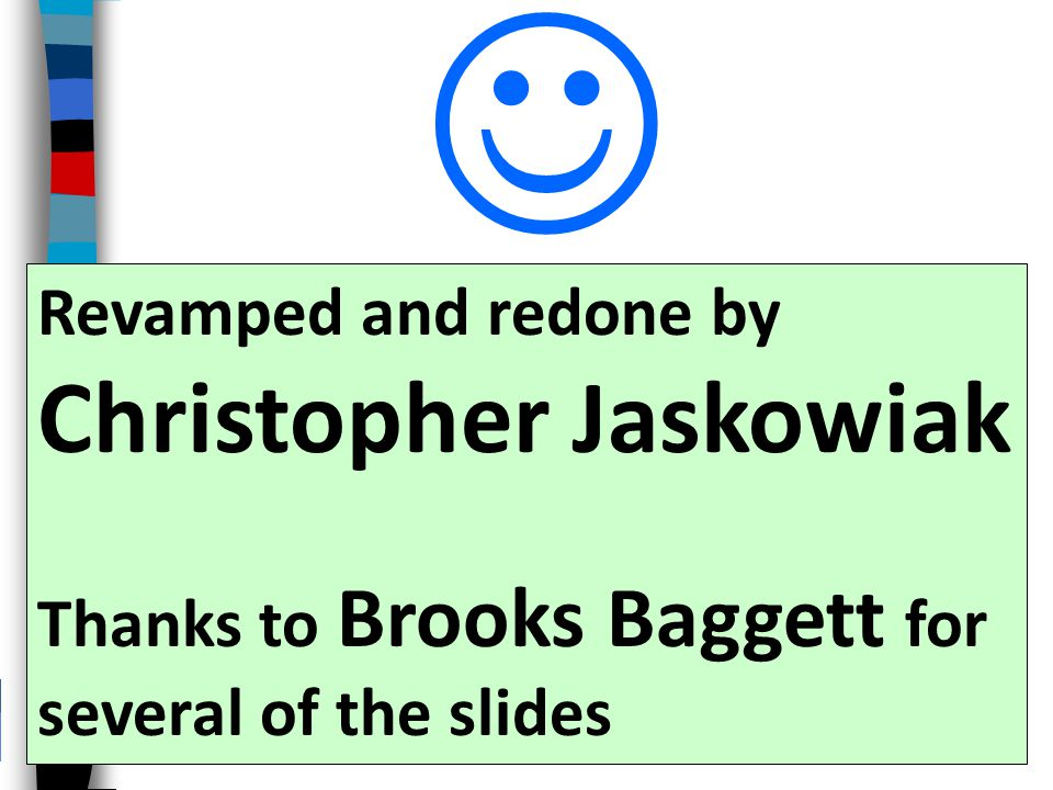  Christopher Jaskowiak Revamped and redone by