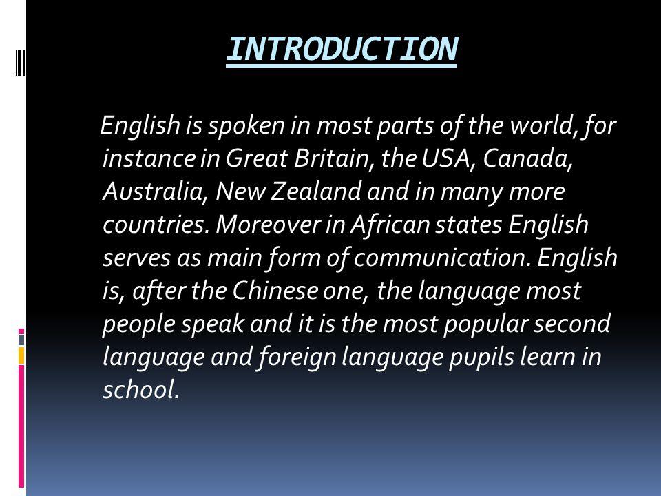 Read e-book The role of English as a world language