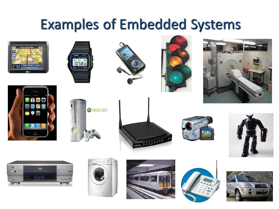 Examples of Embedded Systems