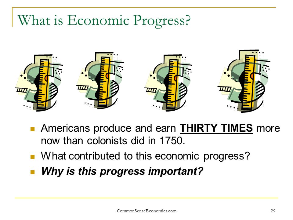 What is Economic Progress