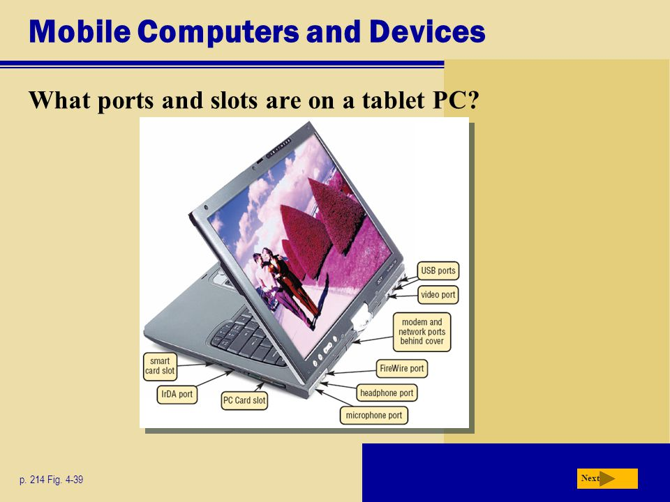 Mobile Computers and Devices