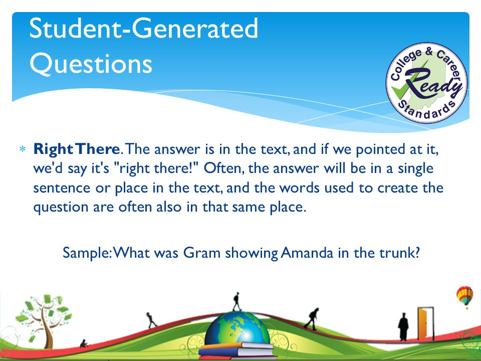 Student-Generated Questions