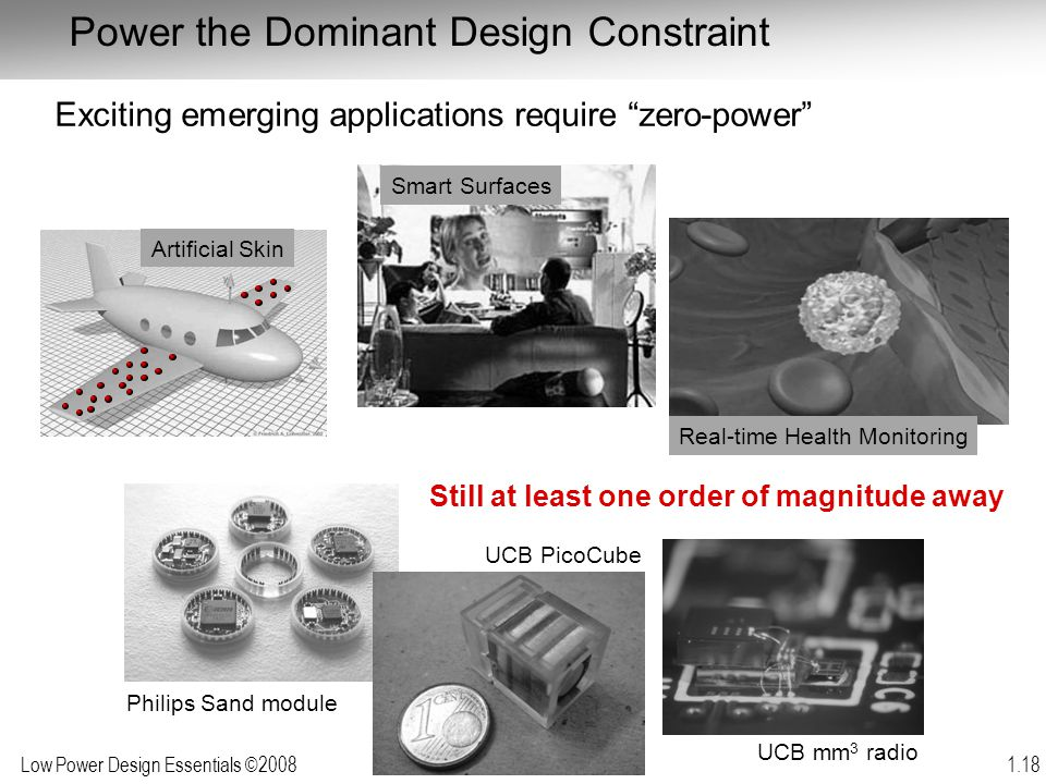 Power the Dominant Design Constraint