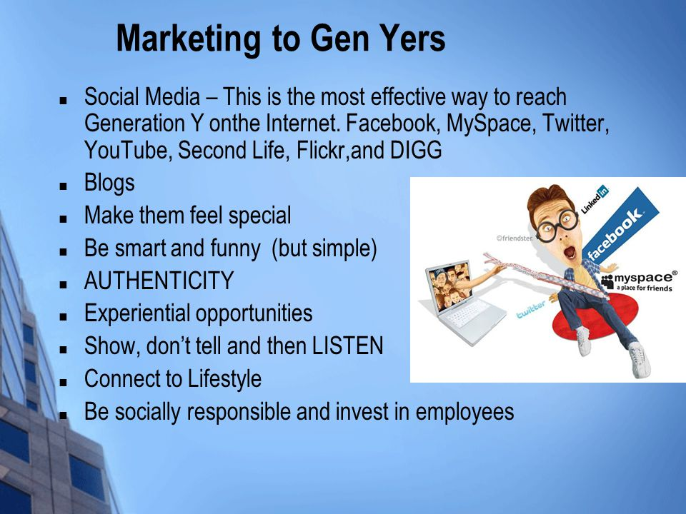 Marketing to Gen Yers