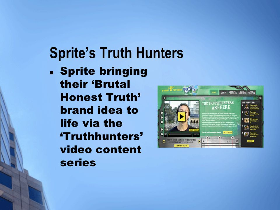 Sprite's Truth Hunters