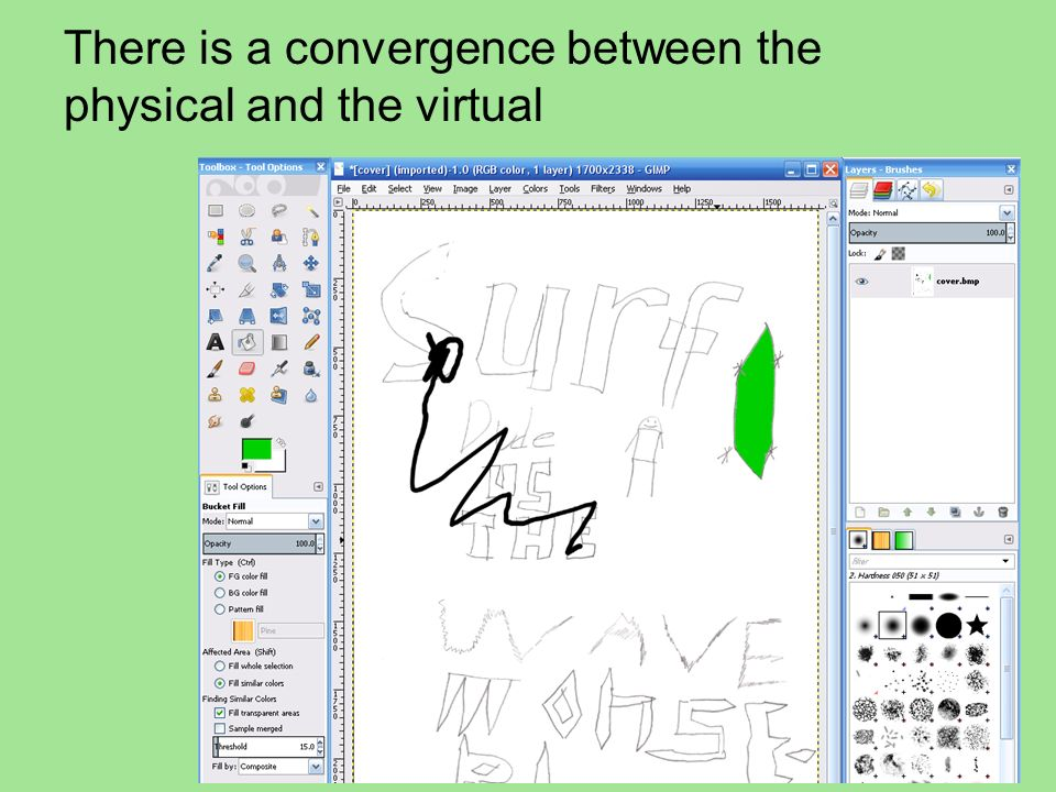 There is a convergence between the physical and the virtual