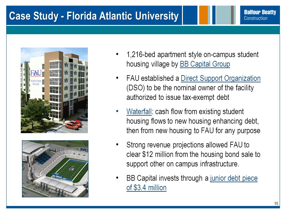 Case Study - Florida Atlantic University